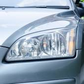 Grey car light — Stock Photo