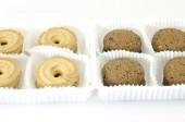 Cookies isolerad på vit — Stockfoto