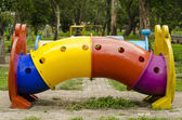 Rides for the children's playground — Stock Photo