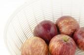 Apple isolerad på vit — Stockfoto