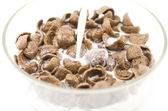 Cereals isolated on white — Stock Photo