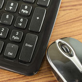 Keyboard and mouse — Stock Photo