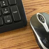 клавиатура и мышь — Стоковое фото