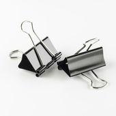 Binder clip — Stock Photo