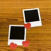 Cornice con cuore — Foto Stock