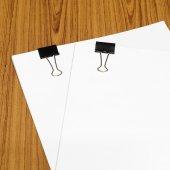 Klip i papieru — Zdjęcie stockowe