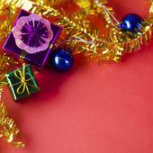 Item decorate for christmas tree — Foto de Stock