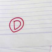 Grade d — Stock Photo
