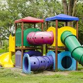 Children Stairs Slides equipment — Stock Photo