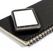 Smartphone on note book — Fotografia Stock