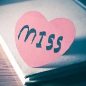 Diario de amor — Foto de Stock