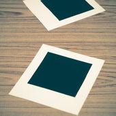 Two photo frames — Stock Photo