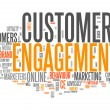 Word Cloud Customer Engagement — Stock Photo #52358285