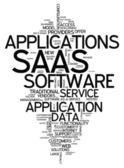 Word Cloud Software As A Service — Stock Photo