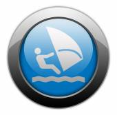 Icon, Button, Pictogram Windsurfing — Stock Photo