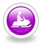 Icon, Button, Pictogram Snowmobiles — Stock Photo