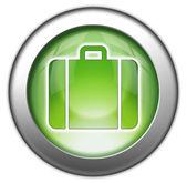 Icon, Button, Pictogram Luggage — Stock Photo