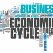 Word Cloud Economic Cycle — Stock Photo #53843979