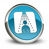 Icon, Button, Pictogram Shower — Stock Photo