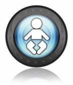 Icon, Button, Pictogram Nursery — Stock Photo