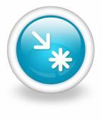 Icon, Button, Pictogram Point of Interest — Stock Photo