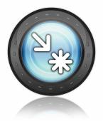 Icon, Button, Pictogram Point of Interest — Stock Photo