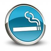 Icon, Button, Pictogram Smoking Area — Stockfoto