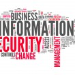Word Cloud Information Security — Stock Photo #58959989