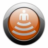 Icon, Button, Pictogram Amphitheater — Zdjęcie stockowe
