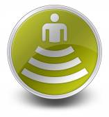 Icon, Button, Pictogram Amphitheater — 图库照片