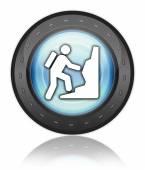 Icon, Button, Pictogram Climbing — Stock Photo