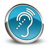 Icon, Button, Pictogram Hearing Impairrment — Stock Photo