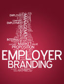 Word Cloud Employer Branding — Stock Photo