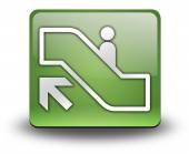Icon, Button, Pictogram Escalator Up — Stock Photo
