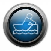 Symbol, Button, Piktogramm Rowboating — Stockfoto