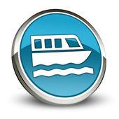 Icono, botón, pictograma Boat Tour — Foto de Stock