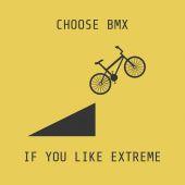 Bmx の自転車 — ストックベクタ