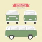Classic Van — Stock Vector