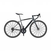Road bike — Stock Vector