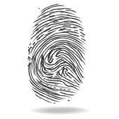 Fingerprints. Crime and safety concept — Stock Photo