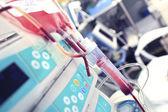 Blodtransfusion i iva — Stockfoto