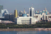 Astana. View of the Presidential Palace  — Stok fotoğraf