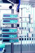 Medical appliances in the ICU — Stock Photo