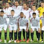 Постер, плакат: Semi final 20152016 UEFA Europa League match between Shakhtar vs FC Sevilla