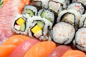 Japanese food mix — Stock Photo