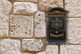Antique letterbox — Stock Photo