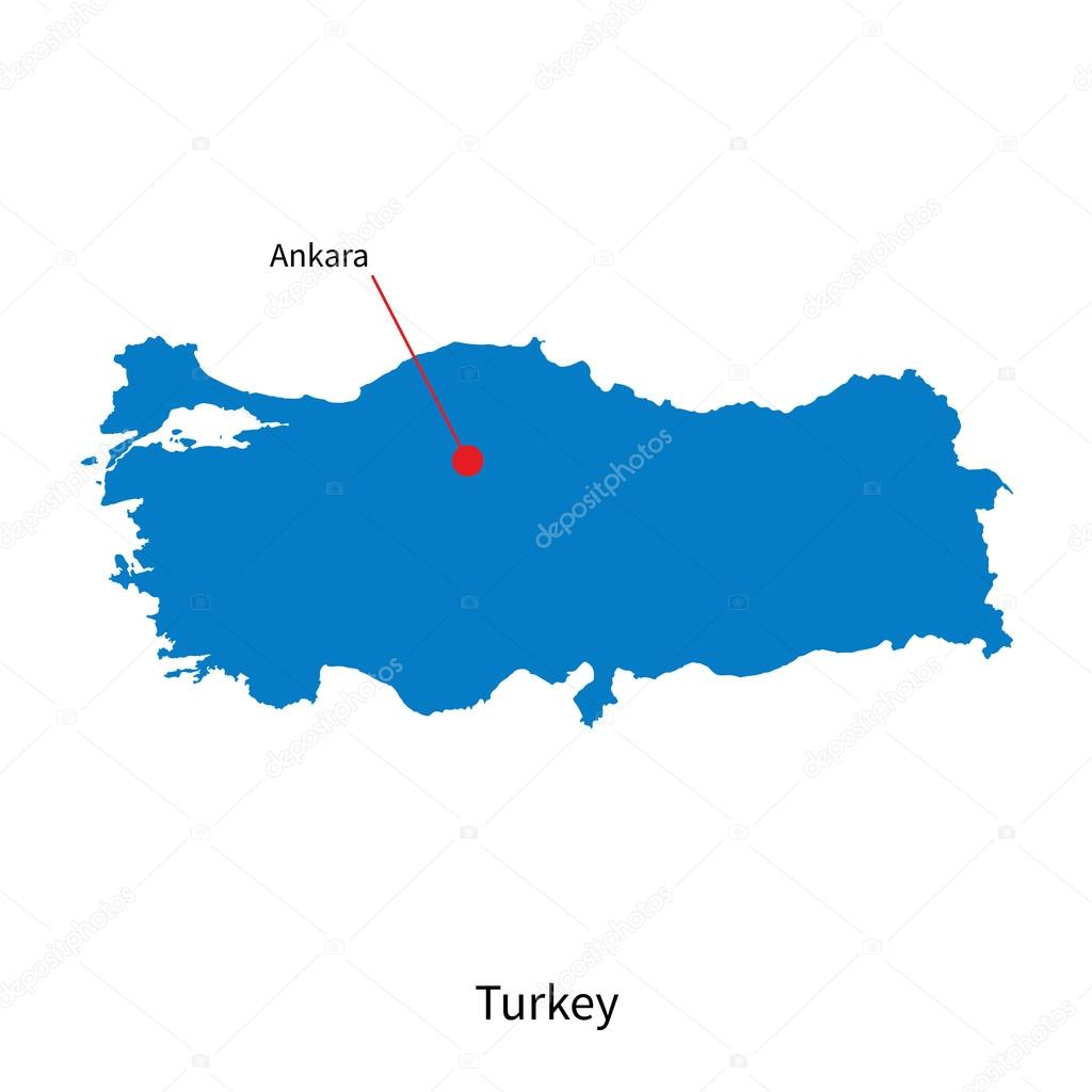 Capital Turquie Carte