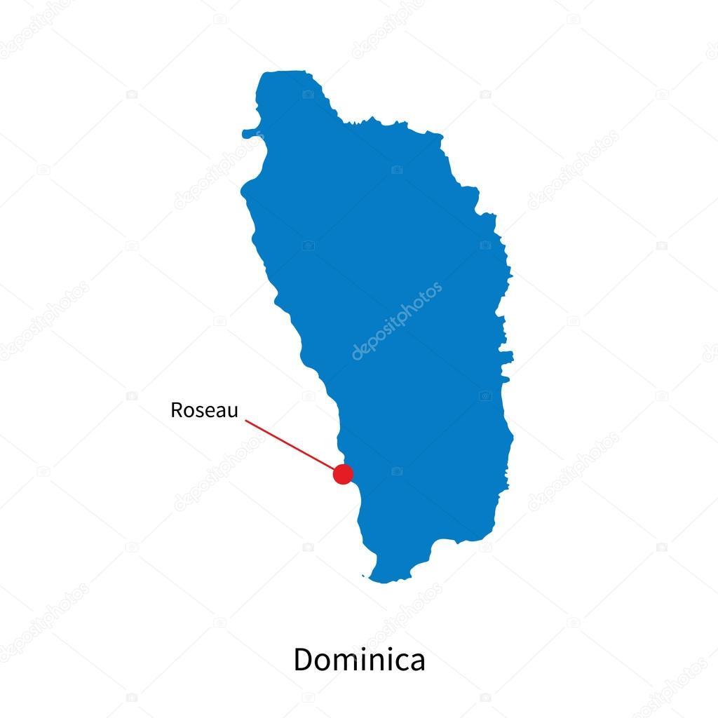 roseau capitale de dominique