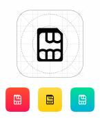Nano SIM icon. — Stock Vector