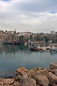 Vista de Kaleici, Puerto de casco antiguo de Antalya. — Foto de Stock
